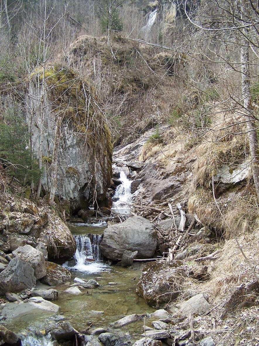 Водоспад, околиці м. Капрун, Австрія