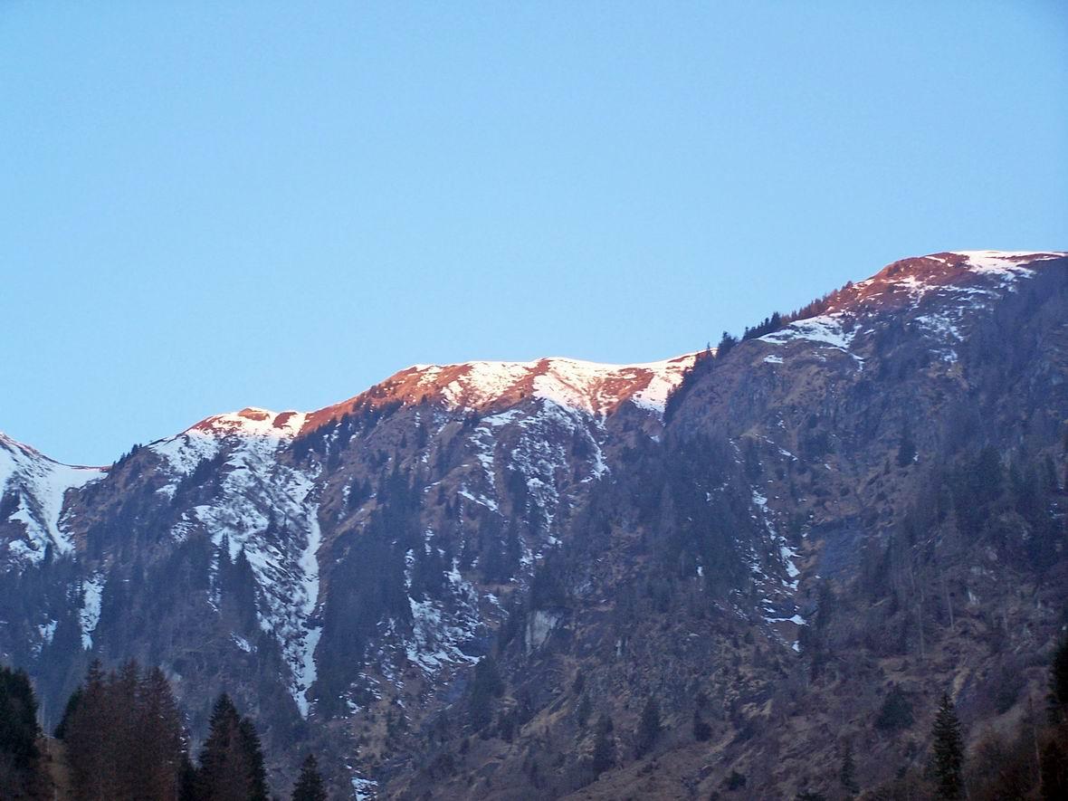 Альпи на світанку