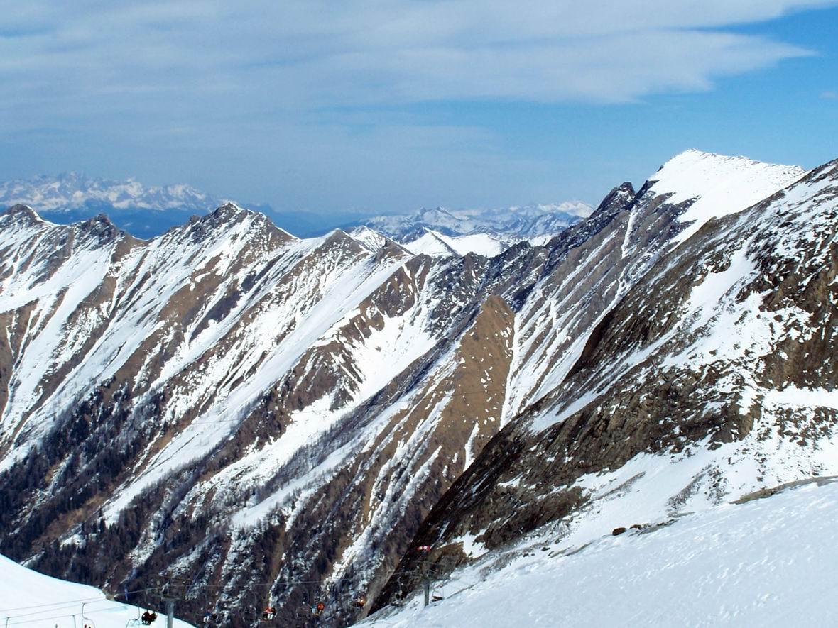 Гірськолижний курорт Кітцштайнхорн, Австрія