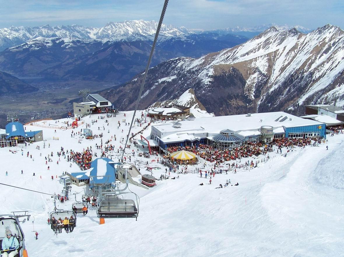 Альпінцентр, гірськолижний курорт Кітцштайнхорн, Австрія