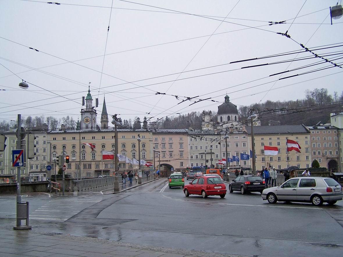 Старе місто і сучасність, Зальцбург, Австрія