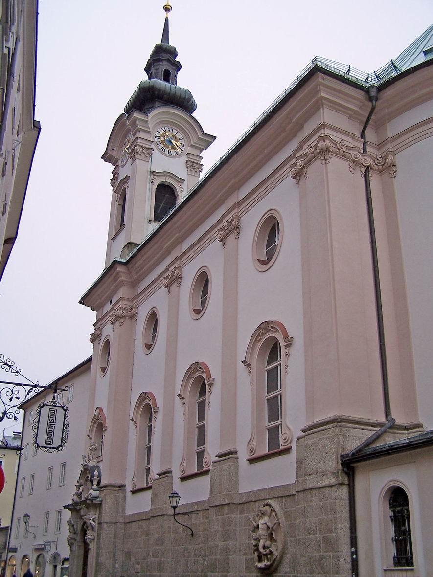Костьол св. Себастьяна, Зальцбург, Австрія