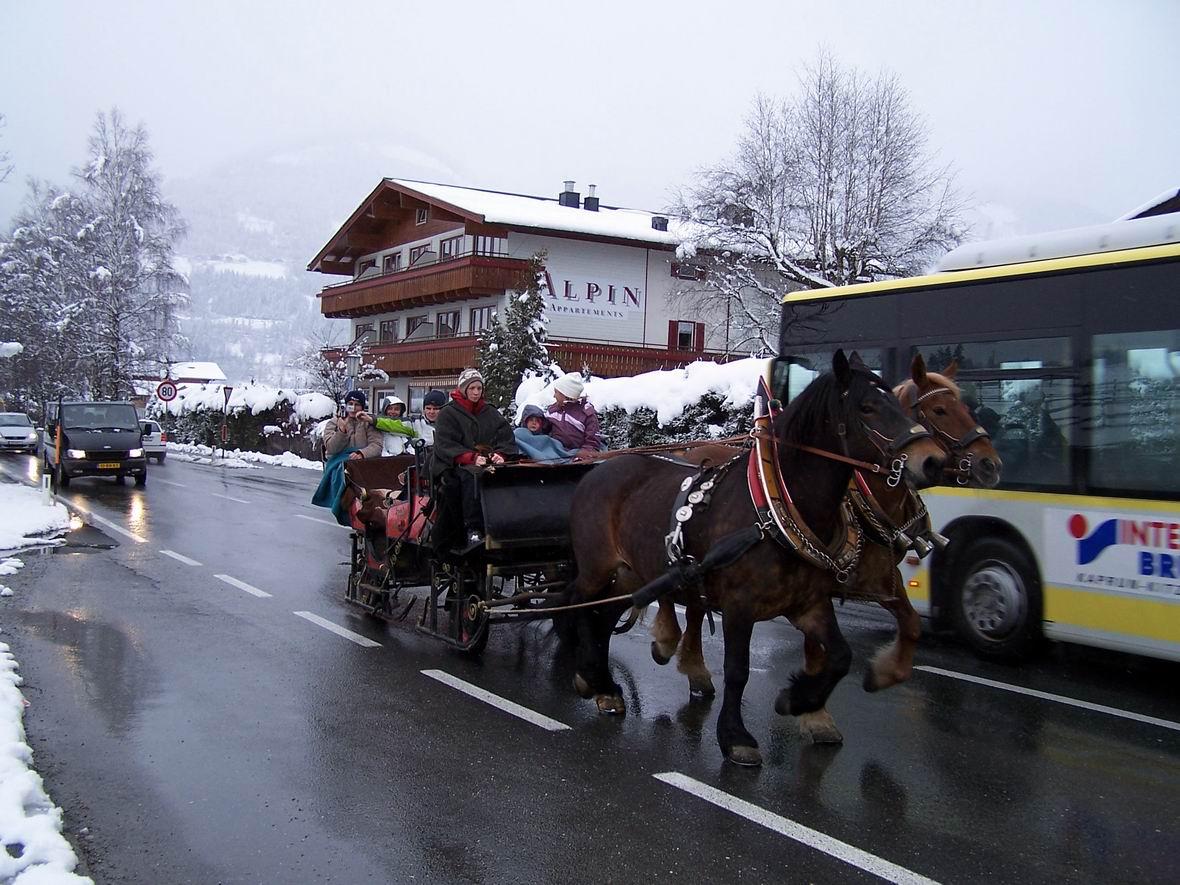Катання на бричці в Капруні, Австрія