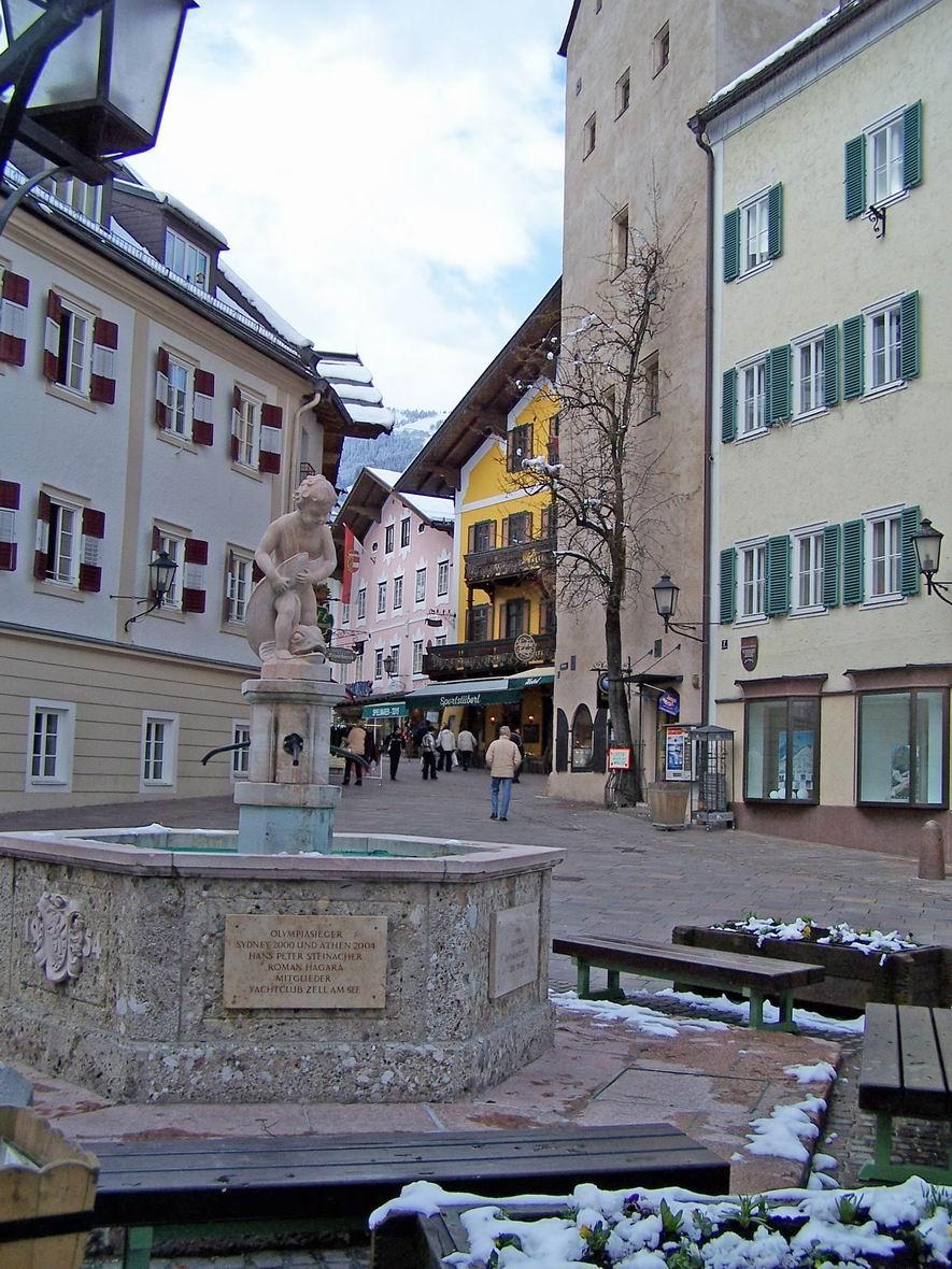 Фонтан, м. Цель-ам-Зее, Австрія