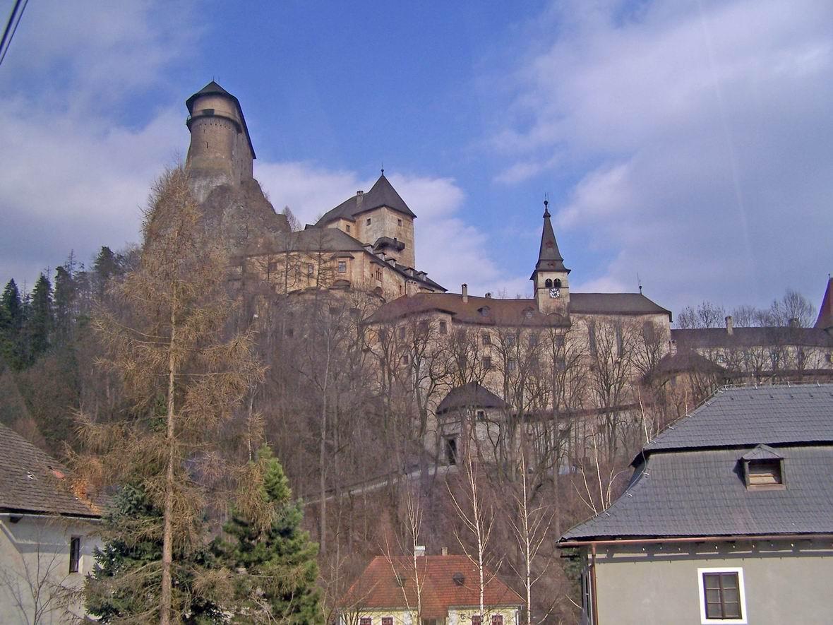 Замок в Словаччині