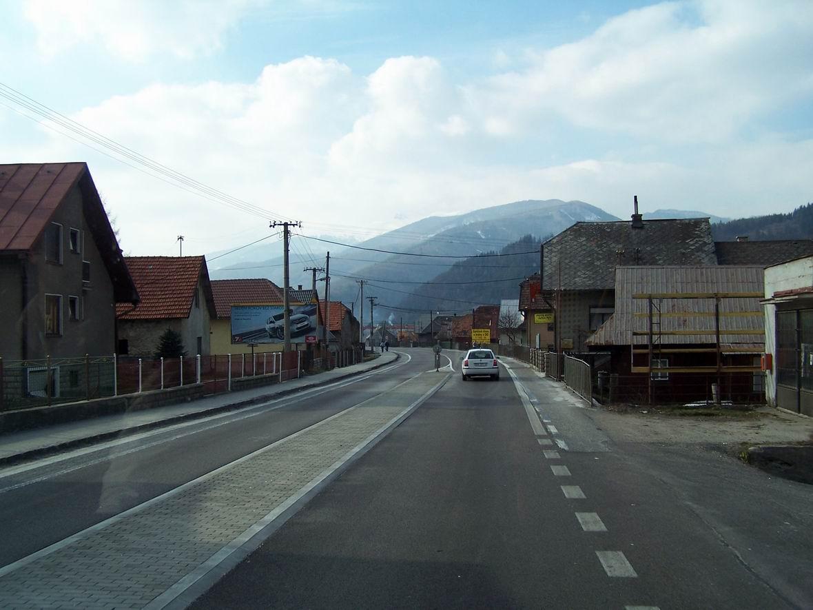 Словаччина з вікна автобуса