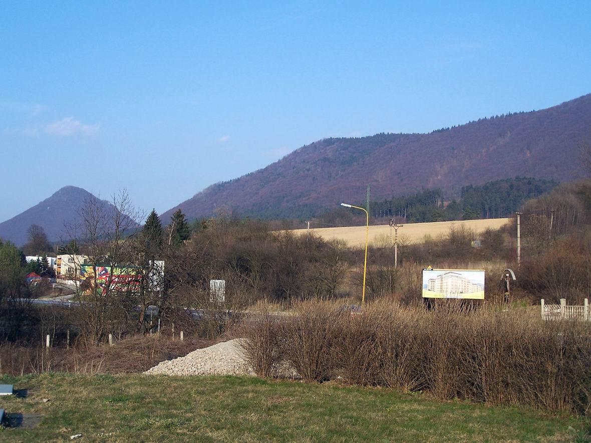 Околиці м. Тренчин, Словаччина