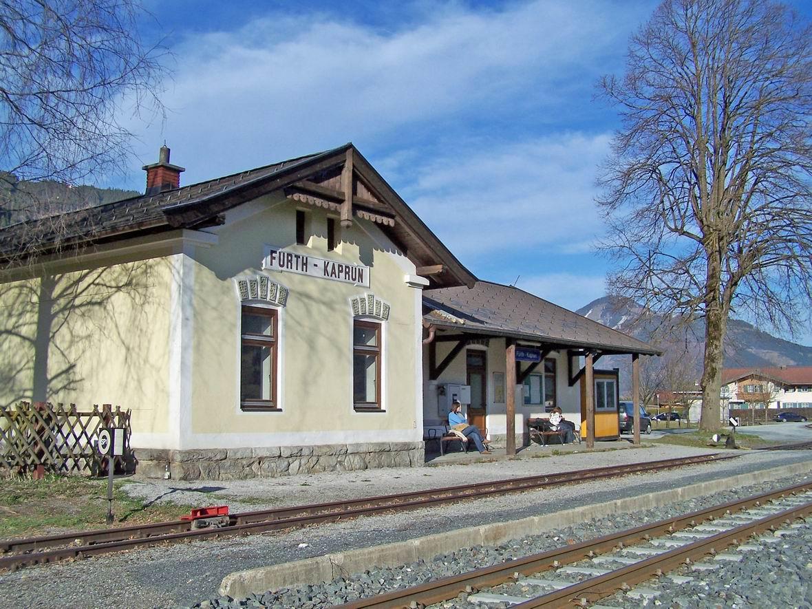 Станція Фюрт-Капрун, вузькоколійна дорога Пінцгау, Австрія