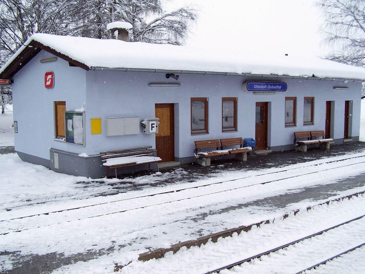 Ст. Уттендорф-Штубахталь вузькоколійної дороги Пінцгау, Австрія