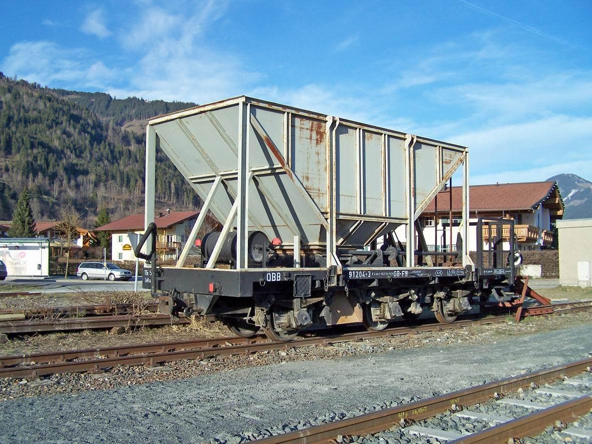Хоппер, ст. Фюрт-Капрун, вузькоколійна дорога Пінцгау, Австрія